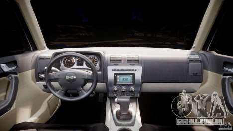 Hummer H3 para GTA 4 vista direita