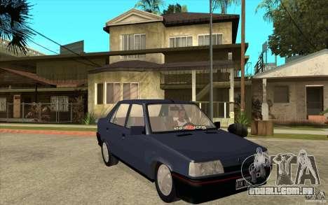 Renault 9 Mod 92 TXE para GTA San Andreas vista traseira
