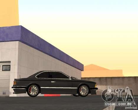 BMW M6 E24 para GTA San Andreas vista direita