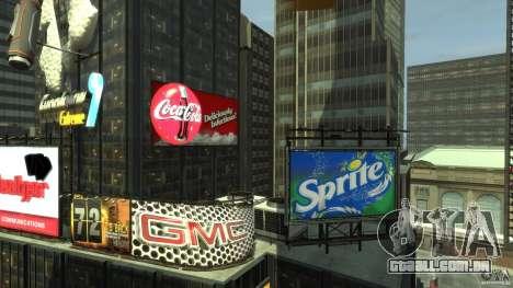 Time Square Mod para GTA 4 quinto tela