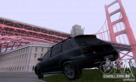ENB Reflection Bump 2 Low Settings para GTA San Andreas segunda tela