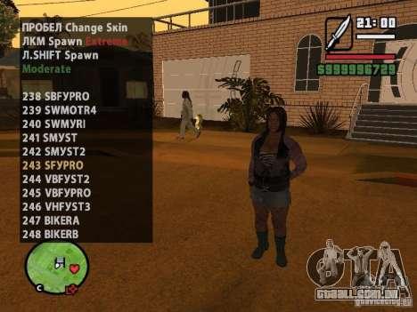 GTA IV peds to SA pack 100 peds para GTA San Andreas décima primeira imagem de tela