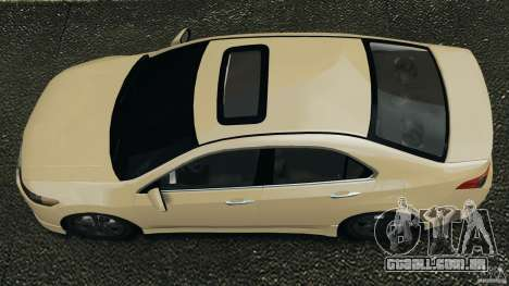 Honda Accord Type S 2008 para GTA 4 vista direita