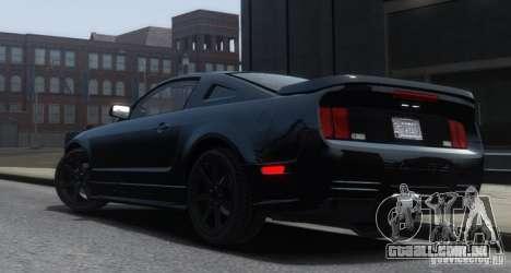 Saleen S281 Extreme Unmarked Police Car para GTA 4 esquerda vista