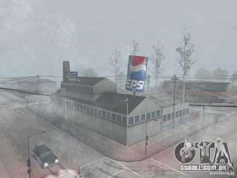 Máquinas de venda automática de Pepsi e planta para GTA San Andreas segunda tela