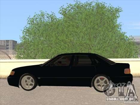 Audi 100 para GTA San Andreas esquerda vista