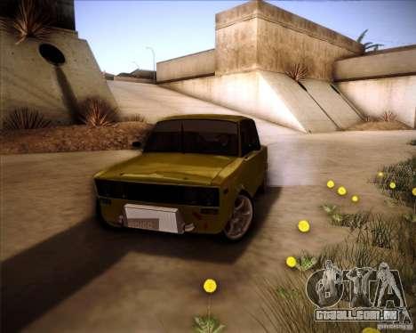 Drift VAZ 2106 para vista lateral GTA San Andreas