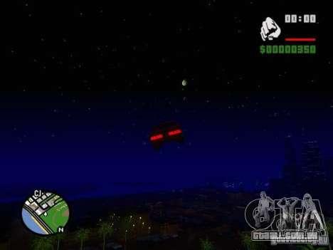 Céu estrelado V 2.0 (jogador) para GTA San Andreas quinto tela