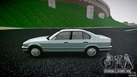 BMW 535i E34 para GTA 4 esquerda vista