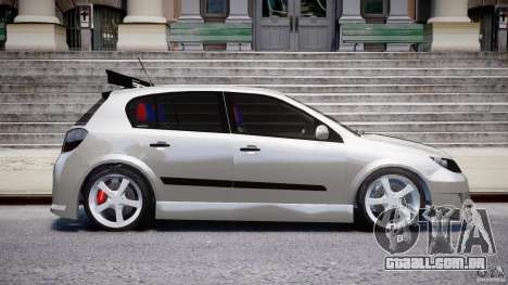 Opel Astra 1.9 TDI 2007 para GTA 4 vista lateral