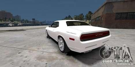 Dodge Challenger 2006 para GTA 4 esquerda vista