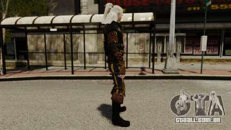Geralt de Rivia v1 para GTA 4 segundo screenshot