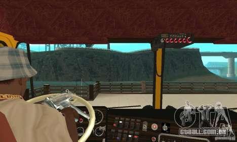 Kenworth K100C Aerodyne para GTA San Andreas vista direita