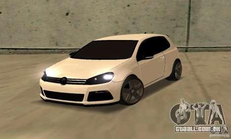 Volkswagen Golf R Modifiye para GTA San Andreas