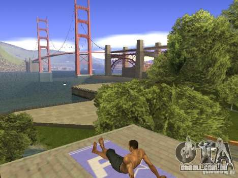 Esteira do resto para GTA San Andreas quinto tela