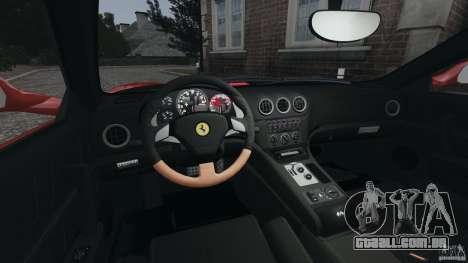Ferrari 575M Superamerica [EPM] para GTA 4 vista de volta