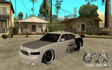 Dodge Charger SRT8 Tuning para GTA San Andreas