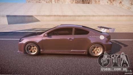 Toyota Scion TC 2.4 Tuning Edition para GTA 4 esquerda vista