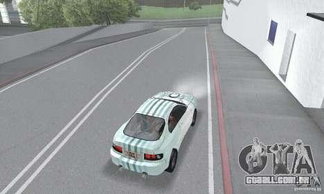 Toyota Celica GT4 2000 para GTA San Andreas vista superior