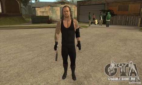 O coveiro da Smackdown 2 para GTA San Andreas
