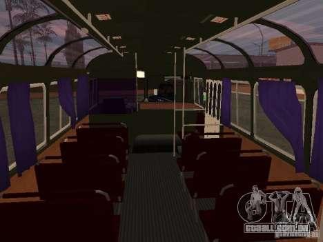 PAZ 672 v2 para GTA San Andreas vista interior