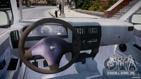 Nissan Frontier Essex Police Unit para GTA 4 vista direita
