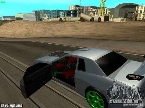 Elegy Dark Evolution Drift Final para GTA San Andreas traseira esquerda vista