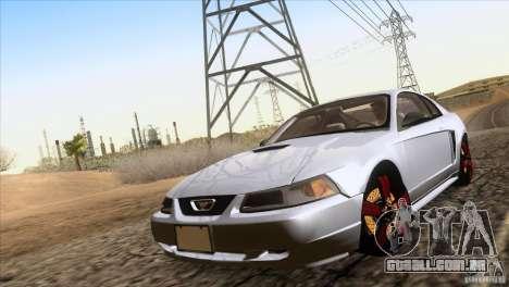 Ford Mustang GT 1999 para GTA San Andreas vista direita