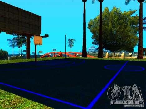Quadra de basquete para GTA San Andreas segunda tela