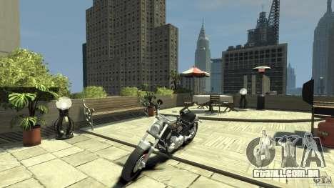 Harley Davidson V-Rod (ver. 0.1 beta) HQ para GTA 4 esquerda vista