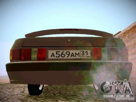GÁS-31025 para GTA San Andreas vista direita