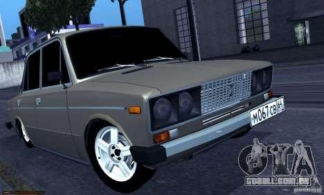 VAZ 2106 Hobo para GTA San Andreas esquerda vista