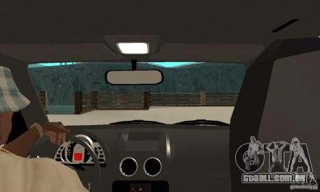 Volkswagen Gol G4 Taxi para GTA San Andreas vista direita