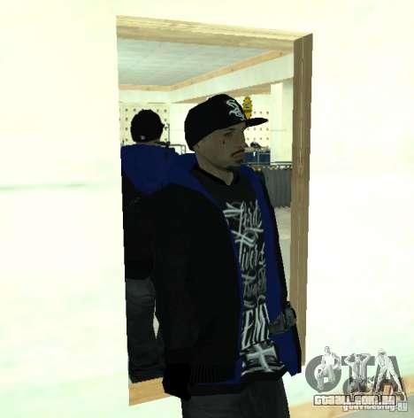 Vagos Gang Skins para GTA San Andreas oitavo tela