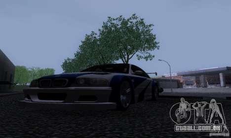 ENB Reflection Bump 2 Low Settings para GTA San Andreas por diante tela