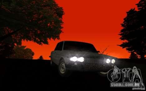 VAZ 2106 Tyumen para GTA San Andreas vista traseira