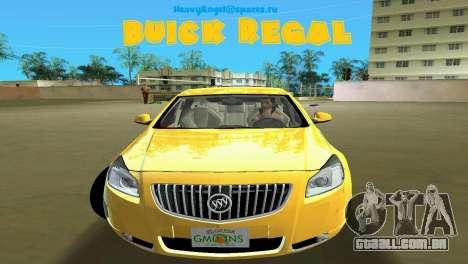 Buick Regal para GTA Vice City
