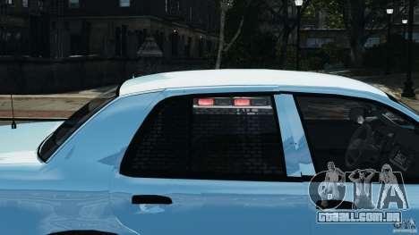 Ford Crown Victoria Police Unit [ELS] para GTA 4 rodas