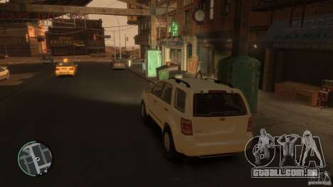 Ford Escape 2011 para GTA 4 esquerda vista