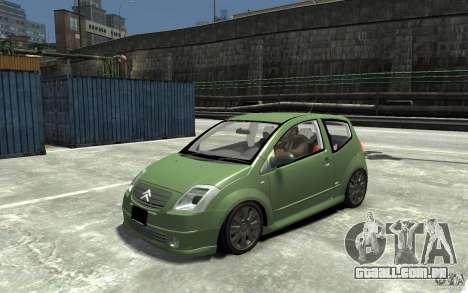 Citroen C2 para GTA 4