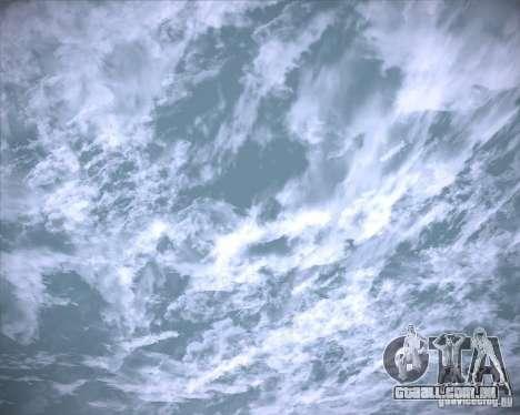 Real Clouds HD para GTA San Andreas décimo tela