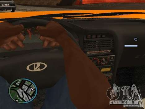 Lada Priora DagStailing para GTA San Andreas esquerda vista