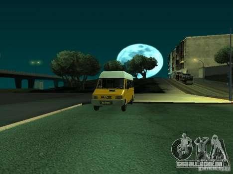 Iveco TurboDaily 49-10 para GTA San Andreas vista traseira