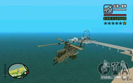 Bell AH-1Z Viper para GTA San Andreas