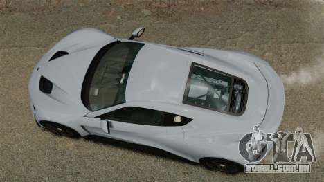 Zenvo ST1 para GTA 4 vista direita