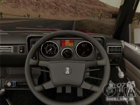 2105 Lada RIVA (exportação) 2.0 para o motor de GTA San Andreas