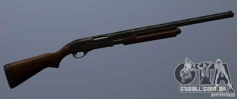 Remington 870AE para GTA San Andreas por diante tela