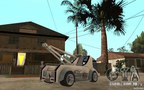 Lil Redd Wrecker para GTA San Andreas vista direita