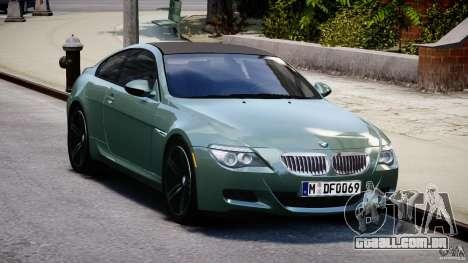 BMW M6 2010 v1.5 para GTA 4