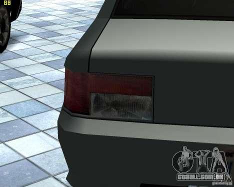 Novas máquinas de textura para GTA San Andreas por diante tela